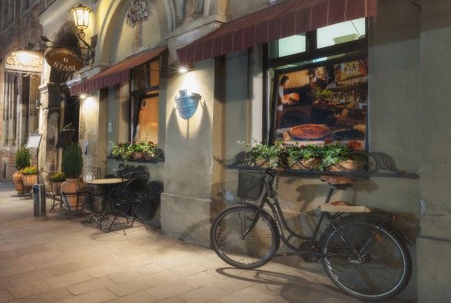 Mit dem Fahrrad durch Krakau