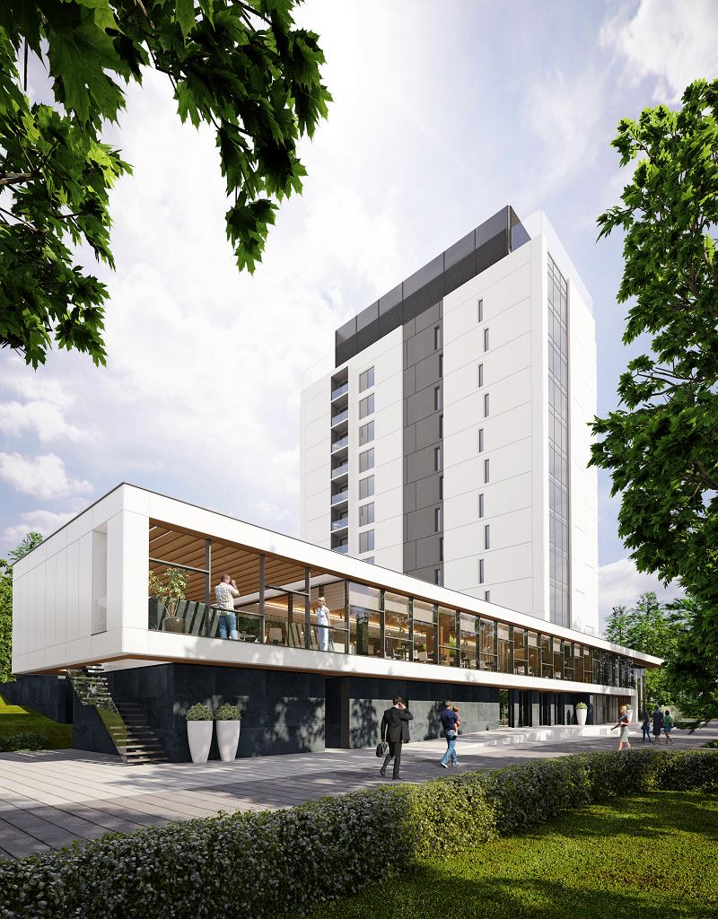 Neues First-Class-Hotel in Szczawnica