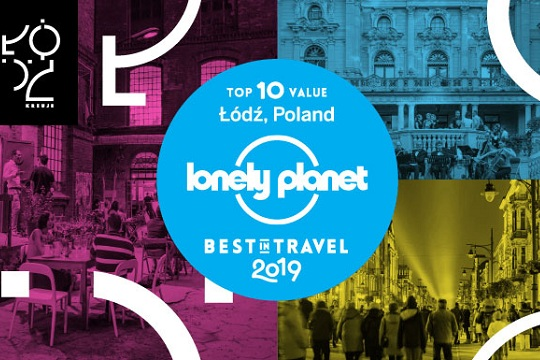Lonely Planet zet Lodz op tweede plaats 'Best in Travel 2019'