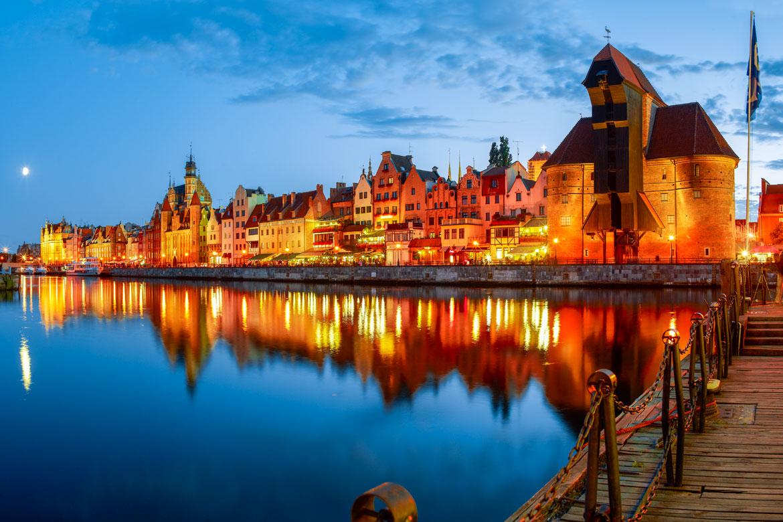 Gdansk - historische Hanzestad