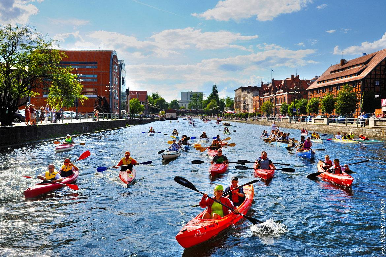 Bydgoszcz een perfekte stad voor Kayakers