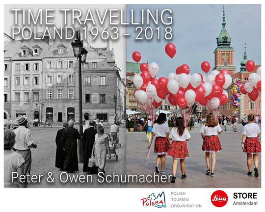 """Time Travelling Polen 1963 - 2018"" foto tentoonstelling in Amsterdam"