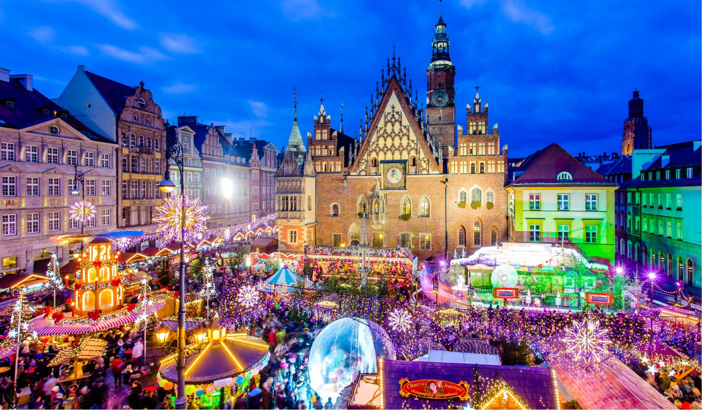 Upplev Magisk Julstamning I Polen